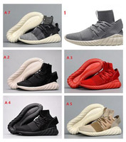 Wholesale Special Shoes Men - Wholesale Hot Sale Mesh Triple Black red Tubular Doom PK Special Forces Shoes Good Men Tubular Radial Running Shoes Sports Sneakers Dunk