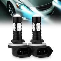 Car LED Fog Driving Luz DRL 1Pair Alta Potência 881 30W 12V-24V 360 graus Beam ângulo Design sinal Back-Up luz