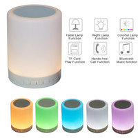 Altoparlante subwoofer wireless a colori bluetooth con sensore LED con luce notturna a LED