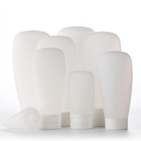 Wholesale Plastic Shampoo Tubes - Travel Empty Clear Tube Cosmetic Cream Lotion Shampoo Bath Lotion Containers Refillable Bottles 30ml 60ml 100ml 120ml 12pcs