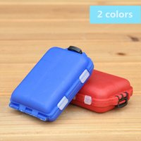 Wholesale fishing lure store for sale - Group buy Delicate Colorful Plastic Fishing Tackle Boxes Compartments Storage Hook Case Outdoor Pesca Fishing Box Lure Bait Storing Tool