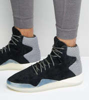 Wholesale Shoe Inspired - Shop the Tubular Instinct Shoes at yakuda 's store, Originals Tubular Instinct SHOES, inspired shoes.men Smooth suede and tonal mesh upper