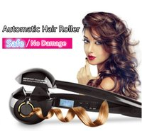 Wholesale Curl Rollers For Curling Hair - Auto Hair Curler Ceramic Wave Hair Roller Magic Curling Iron For Hair Care Styling Tools Curling Machine