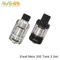 Wholesale Es Top - Eleaf Melo 300 Tank 3.5ml or 6.5ml E-juice Capacity Top Filling Atomizer ES Sextuple 0.17Ohm Coil is Used