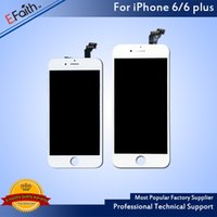 Atacado-Para o iPhone 6 iPhone 6 Plus Sem pixel inoperante Screen Digitizer Replacement Free Shipping