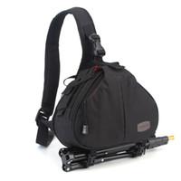 Wholesale Waterproof Camera Messenger Bag - Caden K1 Waterproof Fashion Casual DSLR Camera Bag Case Messenger Shoulder Bag for Canon Nikon Sony Army D980