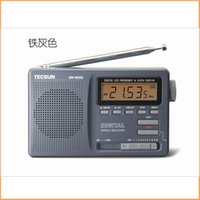Wholesale transistor free shipping - Wholesale-HOT NEW Fashion TECSUN DR-920 Transistor Radio FM-MW-SW Radio Receiver Digital Display With Built-In Speaker Free Shipping