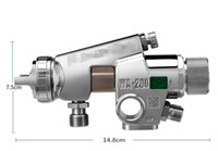 Wholesale Guaranteed Best Quality - Original WA200 pneumatic spray gun Universal airbrush for Metal Coating with 100% quality guarantee and best price free DHL shipping