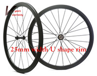 Wholesale 38mm Carbon Clincher Rims - Velosa Outlet,Full carbon 38mm road bike wheelset, 38mm clincher tubular ,700C road bike carbon wheel free shipping 25mm width U shape rim