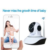 Wholesale Mini Dome Wifi - H310PW 720P Home Security Wifi IP Camera Wireless Mini Surveillance PTZ dome Camera IR Night Vision CCTV Camera Baby Monitor P2P ann