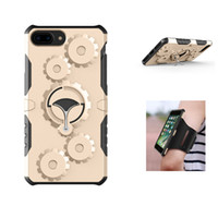 Wholesale Iphone 5s Workout - Running GYM Sports Armband Case For iphone 6 6s 7 Plus 5 5S Workout Arm Band Bag Holder Case For Samsung Galaxy S7 edge S8 Plus Phone Case
