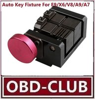 Wholesale automatic key x6 for sale - Group buy Automatic Key Cutting Fixture For E9 X6 V8 A9 A7 A5 Auto Car Key Clamp Cut Automatic Key
