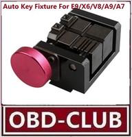 x6 schlüsselschnitt großhandel-Automatische Schlüssel-Ausschnitt-Befestigung für Auto-Schlüssel-Klammer E9 / X6 / V8 / A9 / A7 / A5 Auto-Schlüssel
