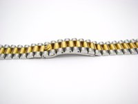 Wholesale Bracelet Screw Ends - 20mm Wholesale Solid Curved End Screw Links Deployment Clasp Stainless Steel Wrist Watch Band Bracelet Strap
