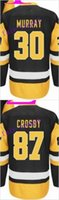 # 30 Matt Murray # 87 sidney crosby 2016 Ice Winter Jersey Cheap Hockey Jerseys Auténtico cosido envío gratis tamaño 48-56