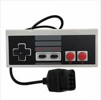 yeni oyun sistemleri toptan satış-Retro Yeni Yedek Game Controller Pad Jointad Nintendo NES için Gamepad 8 Bit Sistem Konsolu Kontrol Pedi Yüksek Kalite HıZLı KARGO