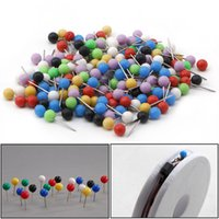 Wholesale Spool For Line - Wholesale- 200pcs Multi-Color Fishing Pin for Fasten Fishing Line Winder Reel Spool Tackle
