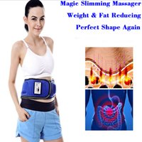 Wholesale Massage Wholesale Belts - Magic Slimming Massage Belt Vibrator Device for Fat & Weight Reducing with 20 Magnets & Infrared with 5 motors Has Powerful Massage