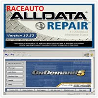 Wholesale Mitchell Repair - Hot sale Alldata 10.53 575GB + 2014 Mitchell Ondemand5 122gb total 2in1 with a 750G hard disk mitchell
