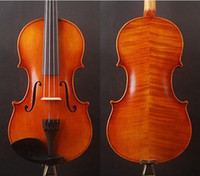 Wholesale Rosewood Fingerboard Solid Wood Violin Violin with Size Violin Sent with Bow Rosin and Case