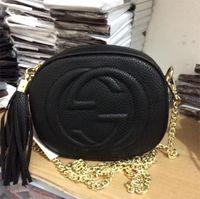Wholesale Tassel Handles - 2017 fashion chain bags handbags women famous brands message bag fringe crossbody shoulder strap bag luxury designer leather top-handle bags
