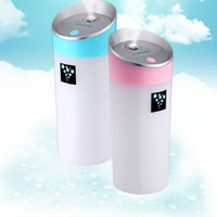 Wholesale Protable Ultrasonic - Cool Mist Humidifier Portable Travel USB Mini Ultrasonic Diffuser for Car Home Office Baby with Automatic Shut-off