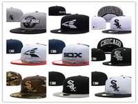 Wholesale Silk Sox - 2017 New style baseball hat Chicago White Sox adjustable baseball Fitted hats Fast recovery Wholesale baseball CAPS Snapback Hats Caps