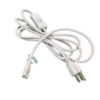 tubo de luz led al por mayor-Los 2ft los 3ft los 4ft los 5ft los 6ft Cable para los tubos llevados integrados de T8 T5 encienden el conector los cables de extensión llevados CE ROHS UL DLC