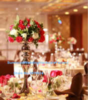 Wholesale Tall Wholesale Wedding Vases - luxury wedding mental candelabra and flower bowl tall centerpiece stands  tall vase centerpieces wholesale