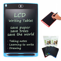 Wholesale Led Inch Tablet - 12 Inch LED Writing Tablet Christmas Gift Kids Children Designer Teacher Drawing Digital Handwriting Pad Epaper With Stylus Pen Retail Box