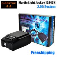 Wholesale Dmx512 Lights - One Piece USB 1024 Martin Lightjockey Led Stage Light Controller USB Martin light jockey USB Controller DMX512 Stage Light Controll
