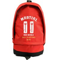 Wholesale Sporting Football Club - Anthony Martial backpack Club star day pack Best player school bag Football rucksack Sport schoolbag Outdoor daypack