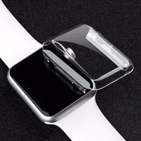 Wholesale Transparent Case S2 - clear hard watch case Ultra Thin(0.5) Full Body Case for Apple smart Watch S1 S2 38MM 42MM PC defender cover protector case