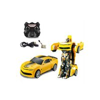 Rc-cars Wasp Morphing Vehicle High Quilty Rc Sprint Car Deformação Remote Radio Controle Robot Toy ABS Plastic Colorido