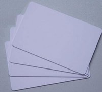 Wholesale Personalized Blank Cards - 100pcs High Chip Frequency RFID F08 13.56MHZ IC personalized printable blank cards Readable Writable Rewrite card blanks for Access Control