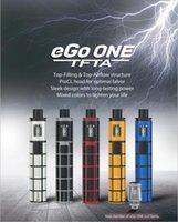 Wholesale Mode Battery - Joyetech ego one TFTA kit e cigarette vape pen starter kits 2300mAh Battery capacity 2ml Tank capacity constant 3.6v output mode