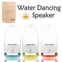 Wholesale Water Show Speakers Wholesale - Dancing Water Speaker Portable Wireless Bluetooth Speaker Powerful Stereo Sound and LED Light Show Music Fountain with 3 Play Modes