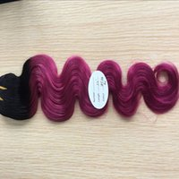 Wholesale Clearance Remy Hair - Clearance Sale Ombre Hair Unprocessed Brazilian Body Wave Peruvian Indian Malaysian Human Virgin Remy Hair Extensions Free Shipping