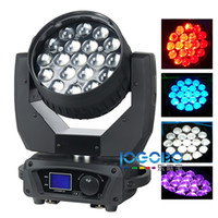 Factory Cheap 15WX19 Zoom RGBW 4in1 Led Beam Moving Head Wash DJ Party Stage Lights Projector Strobe Led Противотуманные фары Sharpie Movable Beam