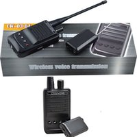 Wholesale Long Range Audio Spy - Micro Wireless Audio Transmitter Bug with recorder Spy Audio bug Eavesdropping Spy Gadget with Long Range 1500M Receiver pickup Mic CW-04