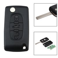 433mhz 3 кнопки VA2 Blade Auto Car Remote Key Shell Case Cover Замена PCF7961 Chip ASK сигнал для PEUGEOT CITROEN