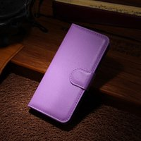 Wholesale Iphone 5c Flip Case Cover - 5C Luxury Wallet PU Leather Case For iPhone 5C Coque Fashion Flip Phone Bag With Stand + Card Holders Cover For iPhone 5C New