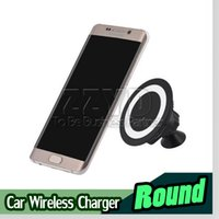 Wholesale Car Holder Ipad Charger - Car Holder Wireless Charger Portable Car Mount Wireless Charger Universal QI Wireless Charger for Iphone for Andriod phone For Ipad