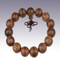 Wholesale Tibetan Wooden Beads Wholesale - Tibetan Buddhist 12 15 18 20mm Wenge Beads Bracelets Buddha Bracelet Yoga Wooden Beads Mala Charm Prayer Beads Bracelets