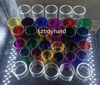 Wholesale smok tfv4 kits resale online - Replacement glass tubes for Smok nano micro tfv4 plus TF RTA RDTA brit mini flavor tank brit one kit Guardian III
