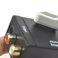 Digital-Analog-Audio-Konverter-Adapter Digital-Adaptador-optisches koaxiales RCA Toslink Signal