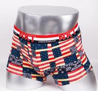 Wholesale Mens Panties Boxers - Men's PP Underwear Men's Boxer Shorts Boxer Homme Famous Brand Men Comfortable Mens Underwear Male Panties