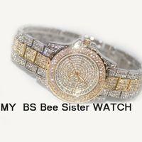 ingrosso bellissime orologi femminili-Orologi Donna Orologi da polso al quarzo BS New High-end donne alla moda Guarda modelli femminili Ladies Dress Beautiful Gift