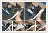 NMD XR1 Fall Olive green Sneakers Mulheres Men Youth Running Shoes moda NMD Runner Primeknit Casual Shoes preço por atacado