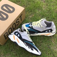 Wholesale Blue Table Fan - Wave Runner 700 Boost Shoes Arrived - Kanye West hit his fans with a surprise release - boost 700 Solid Grey and Triple White Black